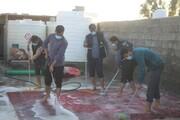 تصاویر/ خدمات گروه جهادی سفیر مهربانی طلاب استان هرمزگان در منطقه سیل زده شهرستان سبریک