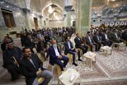 تصاویر/ برگزاری جشن میلاد حضرت زینب کبری(س) در حرم امامین عسکریین(ع) در سامرا