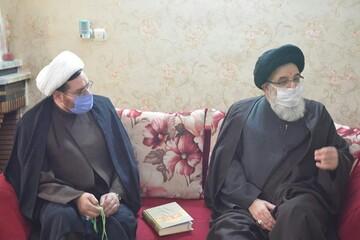 تکریم خانواده های روحانیون فقید استان البرز