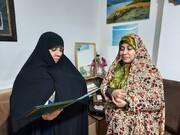 مدیر مدرسه حضرت رقیه(س) از پرستار بیمارستان شهید گنجی برازجان تقدیر کرد