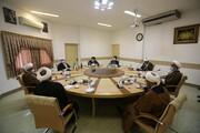 تصاویر/ دیدار اعضای ستاد بزرگداشت مرحوم آیت الله العظمی حسینی شاهرودی با رئیس جامعة المصطفی