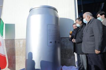 افتتاح یک پروژه بزرگ صنعتی در کرمانشاه