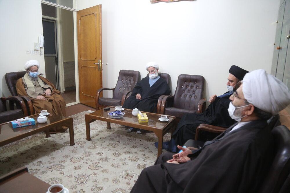آیت الله مقتدایی در دیدار با اعضای کمیته علمی «همایش بین المللی حضرت ابوطالب