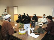 تصاویر/ تقدیر از پرستاران و پرسنل بیمارستان «کوثر» سنندج توسط حوزه علمیه کردستان