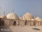 بازسازی و مرمت گنبد مسجد ۳۰۰ ساله در خداآباد پاکستان
