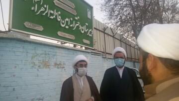 بازدید سرپرست معاونت تبلیغ حوزه از مدرسه امین فاطمه زهرا سلام الله علیهای فارس