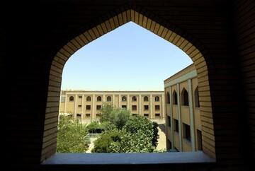 تصاویری از مدرسه علمیه فاطمی قم