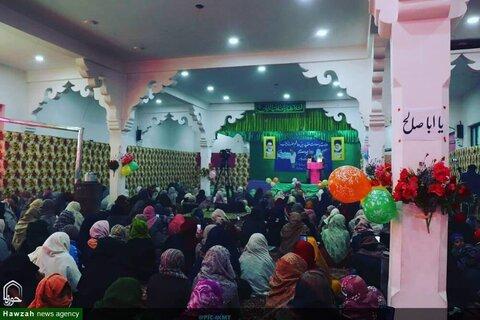 تصاویر؛ بسیج زینبیه ی بخش زنان  مؤسسه یادبود امام خمینی کارگیل هند، به مناسبت تولد حضرت زینب (س) جشن بزرگی به عنوان روز پرستار برگزار کرد.