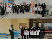 بانوان طلبه بهابادی از کاد درمان بهاباد تقدیر کردند