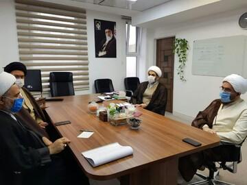 دیدار مدیر حوزه های علمیه خواهران با رئیس شورای سیاستگذاری ائمه جمعه