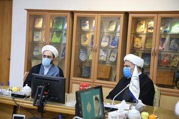 بازدید مدیر حوزههای علمیه خواهران از مرکز تحقیقات اسلامی نور