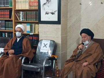 تصاویر/ دیدار سرگروههای طلاب جهادی با نماینده ولی فقیه در استان سمنان