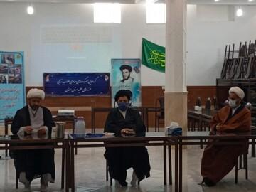 تصاویر/ دیدار سرگروههای طلاب جهادی با مسئولین حوزوی استان سمنان