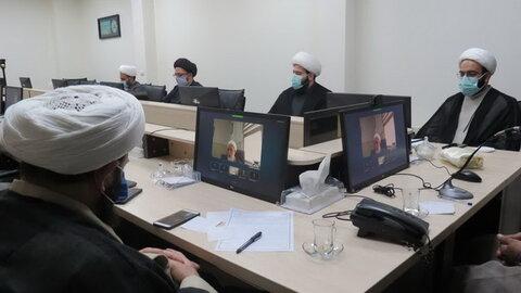 جلسه بررسی طرح «جهاد تربیتی» حوزه علمیه تهران