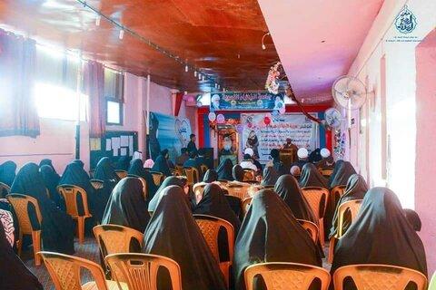 برگزاری جشنواره روز جهانی عفاف در جامعة الزهرا(س) در عراق