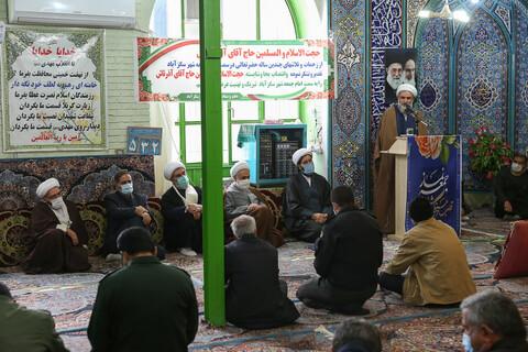 تصاویر/ مراسم تکریم و معارفه امام جمعه سگز آباد
