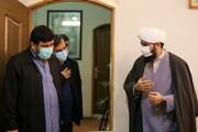 تصاویر/ بازدید رئیس مرکز ارتباطات رسانهای آستان قدس رضوی از رسانه رسمی حوزه