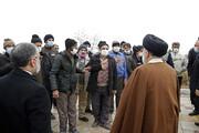 بالصور/ زيارة رئيس السلطة القضائية في إيران إلى محافظة خراسان الشمالية