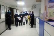مدیر حوزه خواهران همدان از کادر درمان تقدیر کرد