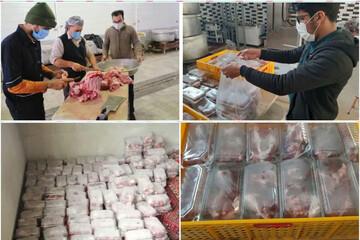 بیست و دومین قربانی هدیه به روح شهید سلیمانی بین نیازمندان یزدی توزیع شد