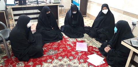 نشست برنامه ریزی ایام فاطمیه در مدرسه الزهرا(س) بافق
