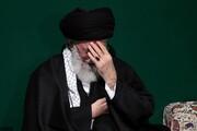 فیلم | روضه شهادت حضرت زهرا(س) توسط رهبر معظم انقلاب