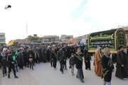 تصاویر/ عزاداری شیعیان عراق در عزای شهادت حضرت صدیقه طاهره (سلام الله علیها)