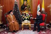 السيد الحكيم يؤكد أهمية زيارة قداسة البابا للعراق لما فيها من رسائل سلام تطلق للعراق والشرق عموما