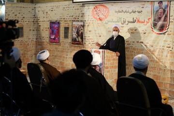 تصاویر/ مراسم بزرگداشت سالگرد شهادت سردار سلیمانی و ابومهدی المهندس