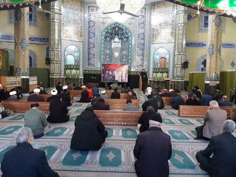 آیین سوگواری شهادت حضرت زهرا(س) در ورامین