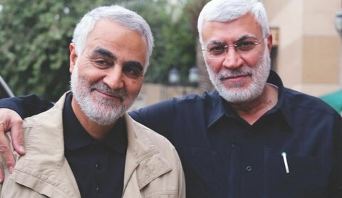 سردار سلیمانی و ابومهدی المهندس