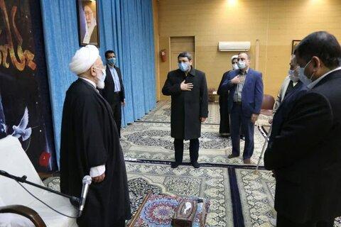 رئیس بهزیستی در دیدار با آیت الله ناصری یزدی