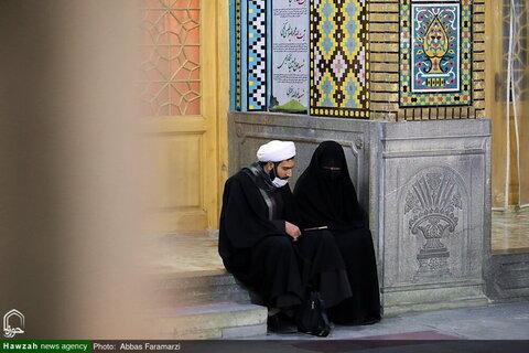 بالصور/ أجواء الحزن في العتبة المعصومية المقدسة في ذكرى استشهاد السيدة فاطمة الزهراء (ع)