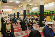 تصاویر/ ویژه برنامه حماسه ۹ دی و شهادت حضرت زهرا(س) در حوزه علمیه اصفهان