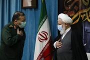 تصاویر/ دیدار رئیس سازمان بسیج مستضعفین با امام جمعه یزد