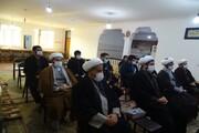 تصاویر/ نشست بصیرتی طلاب و روحانیون شهرستان پلدشت