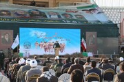 تصاویر/ یادواره شهدای شهرستان یزد