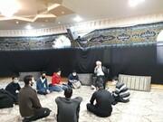 تصاویر شما/ نشست صمیمی مدیر مدرسه علمیه آصفیه و مهدوی تهران با نوجوانان