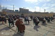 تصاویر/ بزرگداشت حماسه ۹ دی، در مدرسه علمیه امام خمینی(ره) اسلام آباد غرب