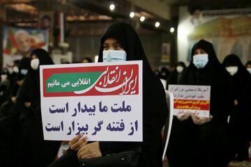 اجتماع بانوان فاطمی برای بیعت با سلیمانِ ایران + عکس