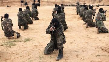 رزمایش مشترک گروههای مقاومت در نوار غزه برگزار شد