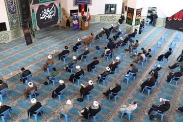 تصاویر/ گرامیداشت حماسه ۹ دی توسط طلاب و روحانیون شیراز