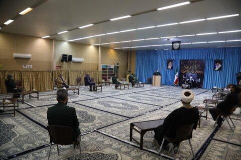نشست رئیس بسیج کشور با آیت الله ناصری