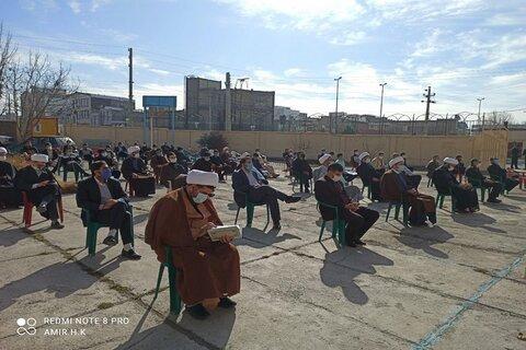 تصاویر/ آئین بزرگداشت یوم الله 9 دی، در مدرسه علمیه امام خمینی(ره) اسلام آباد غرب