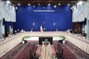 روحانی در جلسه هیئت دولت: ترامپ مُرد و زندگی سیاسی تمام شد