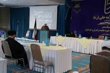 تصاویر/ مراسم اختتامیه یازدهمین جشنواره استانی علامه حلی آذربایجان غربی