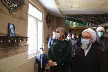 تصاویر/ آیین گرامیداشت سرداران مقاومت در مدرسه علمیه الغدیر اهواز