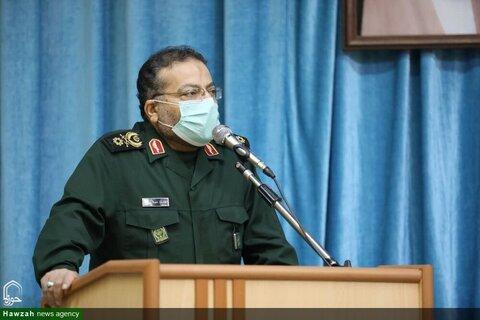 بالصور/ رئيس منظمة تعبئة المستضعفين يلتقي بإمام جمعة يزد