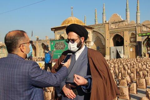 حجت الاسلام مجیدی مدیر کل اوقاف قزوین