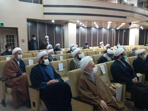 تصاویر/ نشست مجمع علماء و روحانیون استان سمنان